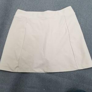 Lady Hagen Cream Gold Skort Skirt